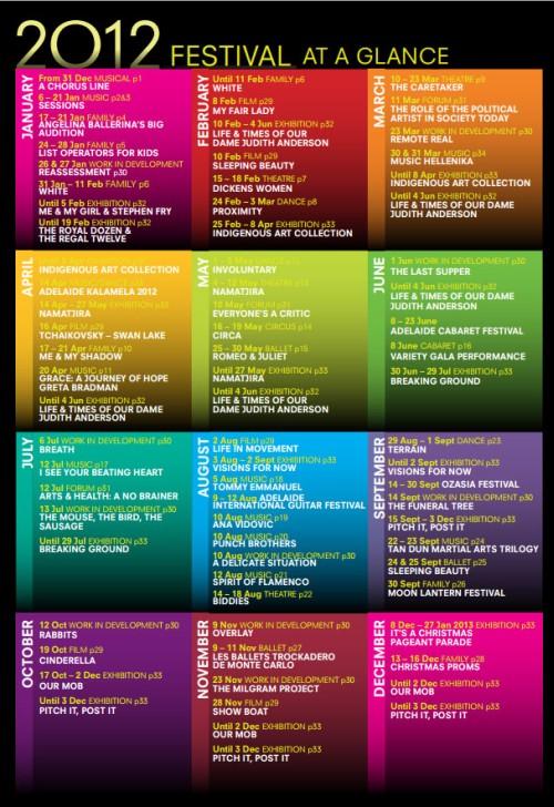 Adelaide Festival Guide 2012